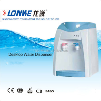Kids plastic water dispenser with hot and cold water