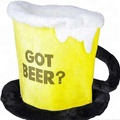 Factory direct sell Beer Mug hat for bavarian holiday