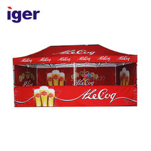 custom beer marquee stretch fireproof warehouse pop up tent canopy
