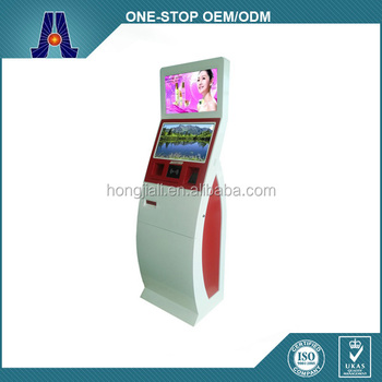 15inch Touch Screen Self-service Terminal Kiosk/Ticket Vending Kiosk/bill payment machine (HJL-3320)