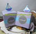 """Baby on Board!"" Pop-Up Sailboat Favor Boxes For Baby Party Favor boxes and baby gift can be personalized"