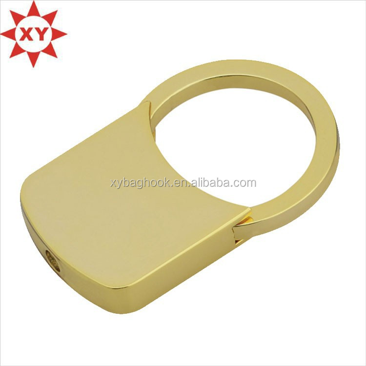 laser key chain ring gold metal lock key chains rings