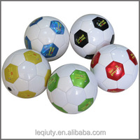 Cheap Machine Sewn Shiny PVC Size 2 Soccer Ball