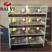 H Type 4 Layer Baby Chicken Cage/ Brooder/ Day Old Chicken Cages For Sale