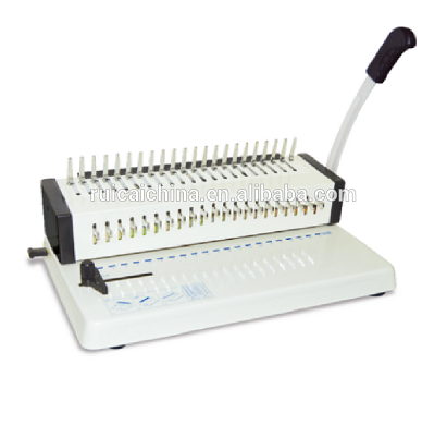 A4 Size Manual Comb File Binding Machine 15 <strong>Holes</strong>