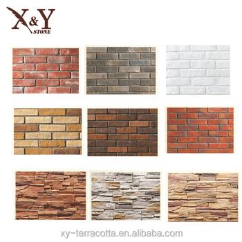 China Guangzhoured Thin Bricks For Interior Walls Hollow Clay Brick