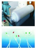 Silicone rubber material for medical pipe catalyzed by platinum in extruding mould