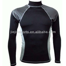 High Quality Compression Shirt Custom Printed Lycra Rash Guard For Men Private Label Mma Rash Guard Oem