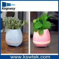 colorful led flower pot,App control Flower Pot Lighting , bluetooth LED colorful Flower Pot for garden