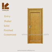 products china exterior door shaker design framed teak wood american entry door