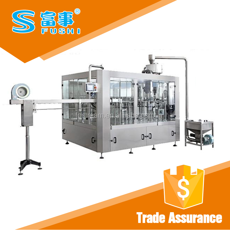 High Efficiency Automatic Bottled Flavored Water Machine