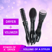 3P interchangeable Hot Air hair styling Brush volumizer dryer hair inner buckle