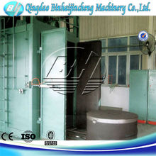 Q76 Rotating table shot blasting unit manufacture from china supplier