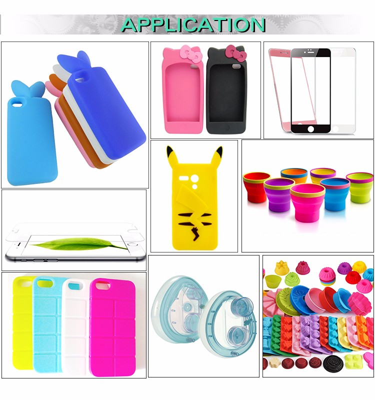 50-500T Energy-Saving silicone mobile phone cover making machine