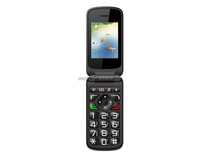 Elder Phone Vkworld Z2 2.4 inch TFT Display Screen Support Dual SIM Card/Torch/Camera Senior cell Phone Flip mobile phone
