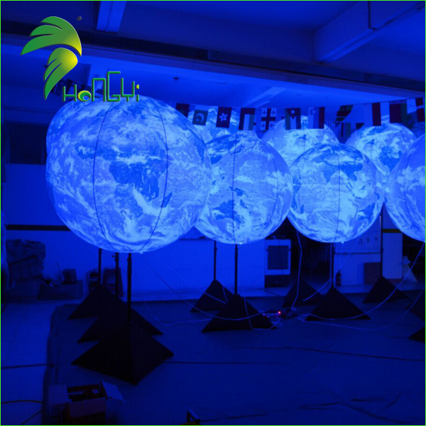 Party Supply Event Inflatable Stand LED Light Balloon