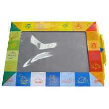 design brand print custom school chair with write board