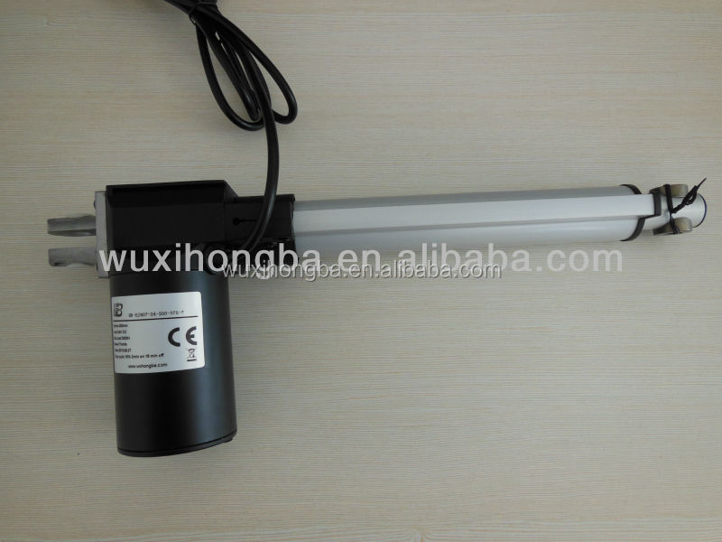 electric rotary linear actuator for tv lift mechanism