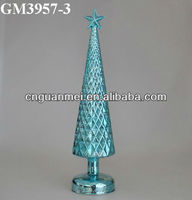Wholesale Large commercial christmas decoration tree with led and star