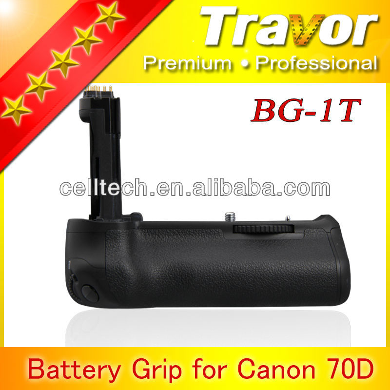 Travor camera equipments for canon 70d multi-power battery pack