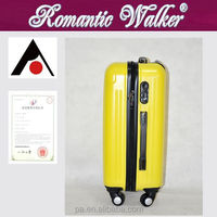 Manufacturers Factory wholesale 4 spinner caster ABS+PC suitcases with patterns