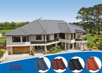 africa hot sell stone coated metal roof tiles Factory direct sale