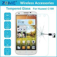 Cheap Mobile Phone Accessories for huawei c199 glass screen protector