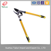 plastic long handle pruning lopper/carbon fiber telescopic tree pruner/electric lopper