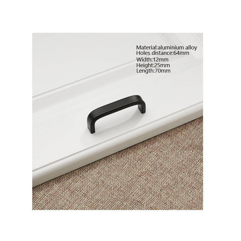 Aluminium Schrank Türgriff Moderne Einfache Schublade Griff Solide ...