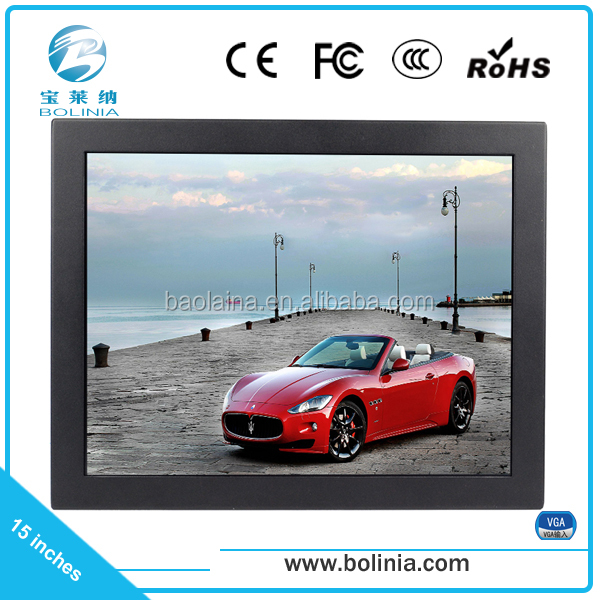 free new stock industrial 1280x1024 15 inch lcd monitor