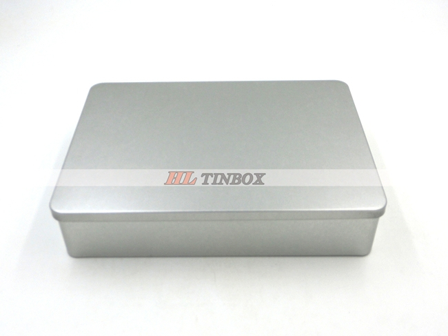 Rectangular Gift Card Metal Tin Box