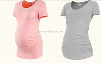High quality wholesale blank maternity t shirts,maternity clothing wholesale