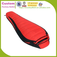 Portable Heated outdoor camping down sleeping bag