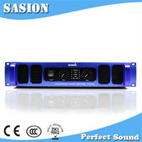 China brand name SASION high power professional amplifier