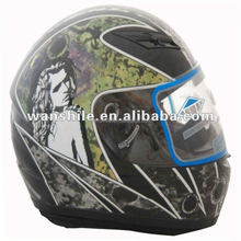 Motorcycle durable safety graphic full face helmet for sale