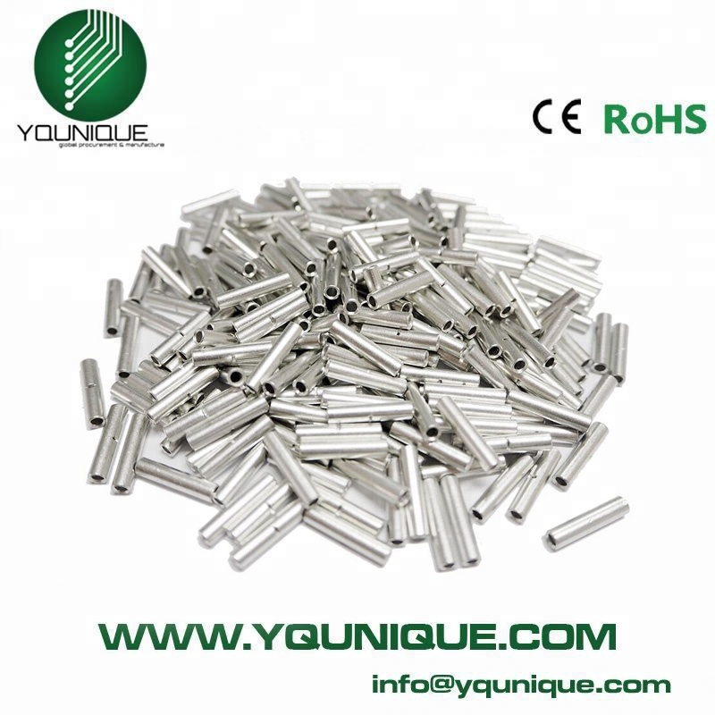 26-22 Gauge Electrical Wire Seamless Non Insulated Butt Connectors ...