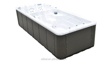 Chinese sanitary ware Aifeel awesome festival items swim pool hot tub with heat pump