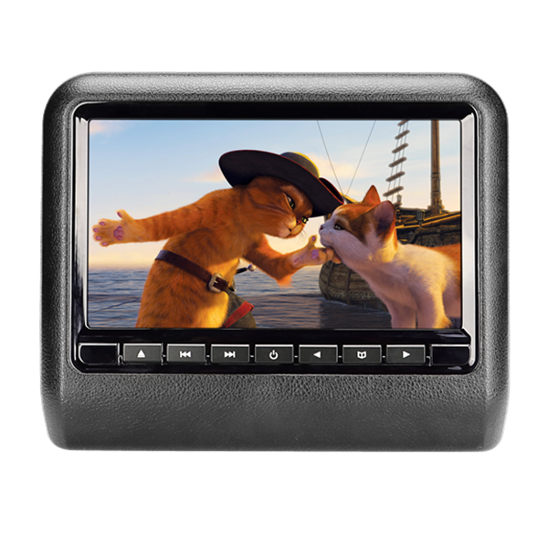 2017 hot sale 9 inch car headrest DVD players screen monitor