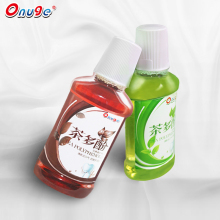 Tea polyphenol fresh mint flavor antiseptic mouthwash LIQUID
