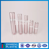 Certification Environment-friendly Arcrylic Cosmetic oval acrylic bottles