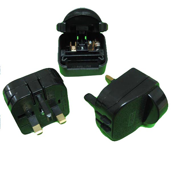 Top selling Schuko 2 pin to 3 pin plug converter travel adapter British plug adapters