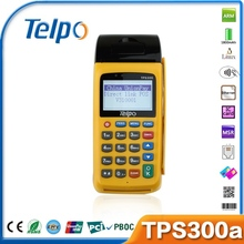 Telpo 2014 New Product TPS300A EFT GSM GPRS Billing Machine for Credit / Debit Card Payment