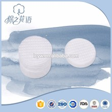 Clean Plum Blossom Printing Round Cosmetic Cotton Pad