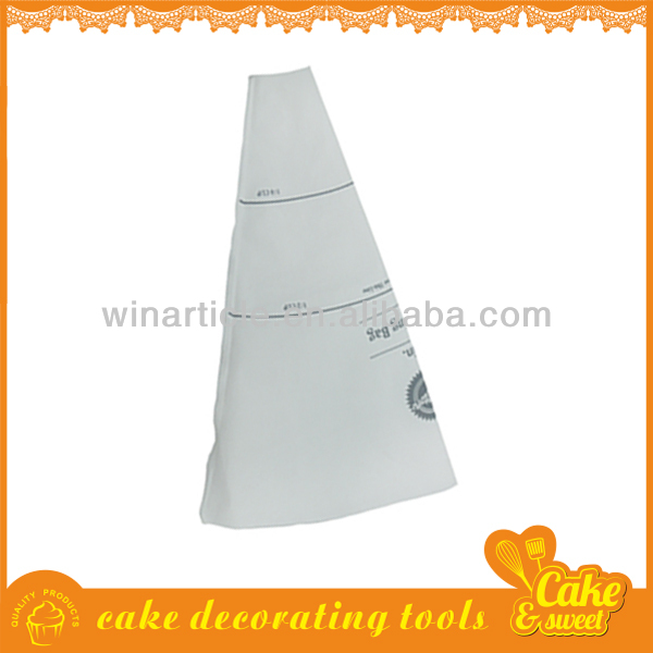 Cake decorating accessories plastic piping bag
