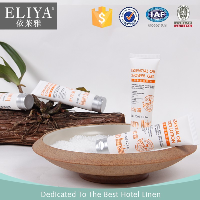 ELIYA luxury disposable bathroom shampoo hotel own logo
