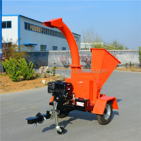 13hp gasoline Engine Wood Chipper/Wood Chipping Machine small forestry machine