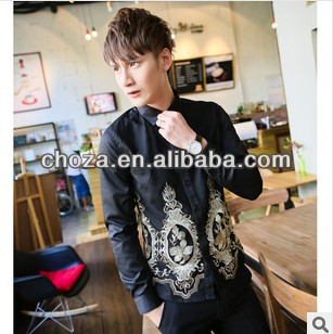C60788A 2013 NEWEST AUTUMN FASHION STYLE MAN'S SHIRT