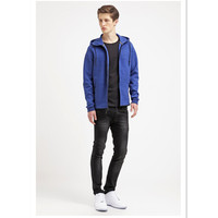high collar blue cheap tracksuits sports wear