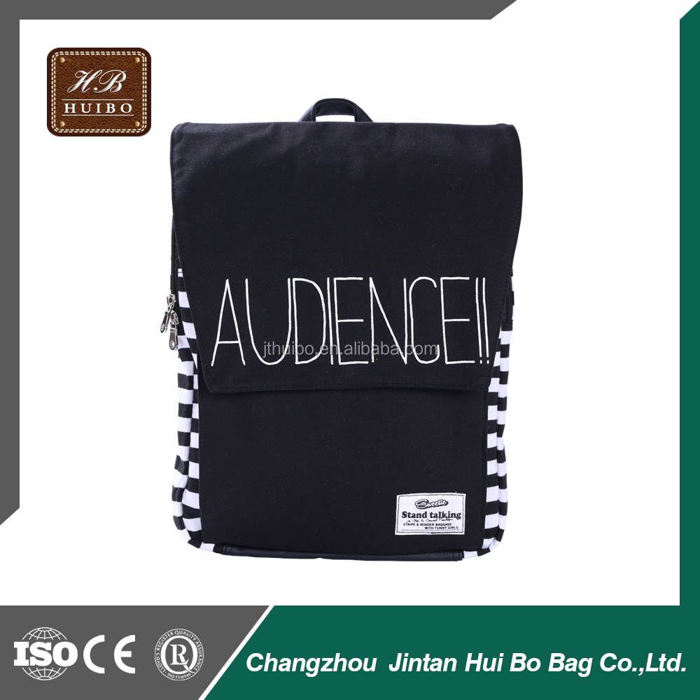 Softback Type and Canvas Material Printing School Bags for Teens OEM