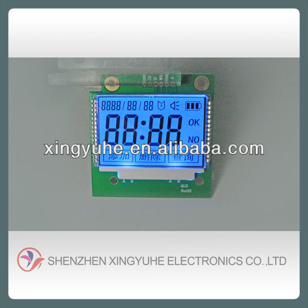 high resolution lcd module for motorcycle digital meter